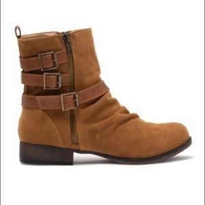 Daniel-1 Triple Buckle Combat Boot